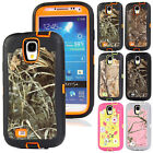 New ShockProof Camo Defender Rugged Hard Case Cover For Samsung Galaxy S4