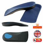 3/4 Orthotic Heel Shoe Insoles Arch Support Flat Feet Arches Insole Cup Fallen