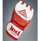 Leather Gel Boxing Gloves Punch Bag MMA Muay thai Training Sparring Pad Kick USA