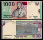 World Paper Money - Indonesia 1000 Rupiah 2009 P141j @ Crisp UNC