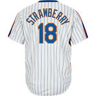 Majestic Athletic Men's New York Mets Darryl Strawberry Cooperstown Home Jersey