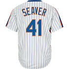Majestic Athletic Men's New York Mets Tom Seaver Cooperstown Home Jersey