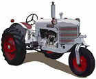 Silver King Model 42 farm tractor canvas art print by Richard Browne *