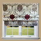 **SALE** Wine Tulip Lined Roman Blind + Fittings *Great Quality *Fast Delivery**
