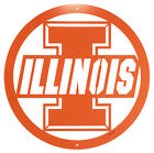 ILLINOIS FIGHTING ILLINI Steel Scenic Art Wall Design