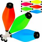 Set of 3 Jac Products Medium Air Fluorescent Juggling Clubs Beginner to Pro Pins