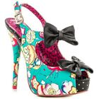 IRON FIST LADIES OVER THE RAINBOW PLATFORM HEEL COURT SHOES (E8B)