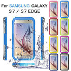 Waterproof Shockproof Swimming Hard Case Cover For SAMSUNG Galaxy S7 / S7 Edge