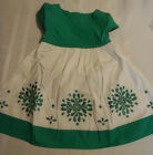 Gymboree The Green Scene 12-18 Month or 3T Short Sleeved Cotton Dress NWT
