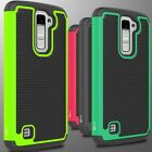For LG K10 / Premier LTE Case Hard & Soft Hybrid Dual Layer Slim Phone Cover