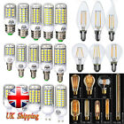 E27 E14 G9 5730/5050 SMD LED Filament Edison Corn Light Lamp Bulb 2W 4W 6W 7W 8W