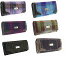 Ladies 100% Authentic Harris Tweed Long Wallet Purse Available in 6 Colours New