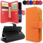 Detachable Magnetic PU Leather Wallet Flip Card Slots Case For Samsung Galaxy S6