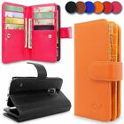 Detachable Magnetic Leather Wallet Flip Card Slot Case For Samsung Galaxy Note 4