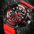 Army S-SHOCK Sport Quartz Wrist Men's Analog Digital Watch Waterproof Military image