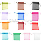 88G - Luxury Organza Gift Bags Jewellery Pouches Xmas Wedding Party Candy Favour