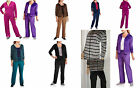 NYC Alliance Women's Velour Tracksuit Set w Hoodie & Pants choice of color/ Size