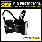 NEW! KK047E OMP K-STYLE KART CARBON FIBRE RIB PROTECTION VEST 4 SIZES KARTING