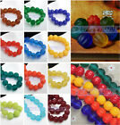 8pcs Pumpkin Handmade Old Lampwork Glass Loose Buddha Beads 8mm 10mm 12mm14mm