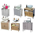 Внешний вид - Free Standing Non Pedestal Under Sink Storage Bath Vanity Cabinet Shelves