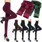 Warm Winter Leggings Thick Fleece Stretch Skinny Pants Trousers Footless Lot