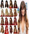 "25"" Wavy Natural Wig Stylish Full Head Wigs Party Hair Women Wig Heat Resistant"