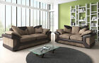 DINO SOFA Black&Grey or Brown&Beige SOFA 3 + 2 JUMBO CORD SALE