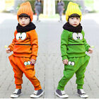 2016 Baby Kid Boys Girls Sportswear Tracksuit Tops T-Shirt+ Harem Pants Outfit