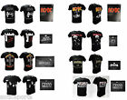 T-Shirt Originali Rock Maglie Magliette Kiss Black Sabbath Pantera Novità New