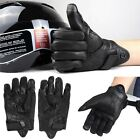 Windproof Waterproof Motorcycle Racing Bicycle Leather Full Finger Gloves Sports
