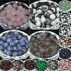Wholesale Natural Stone Gemstone Round Spacer Loose Beads 4MM 6MM 8MM 10MM Lot
