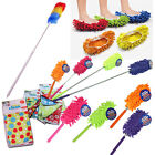 Microfibre Duster Feather Cleaning Extendable Slippers Cloth Telescopic Mop Dust