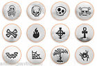 ImpressArt - Gothic Design Metal Stamps, 6mm-9mm Jewelry & Craft (Select Stamp)