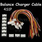 10Pcs Balance Charger 4S1P Silicon Cable Wire JST XH Connector Male/Female Plug