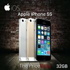 """Apple iPhone 5S 32GB GSM """"Factory Unlocked"""" Smartphone Gold Gray Silver"""