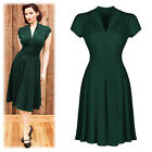 Women Vintage Style Retro 1940s Rockabilly Evening Swing Skaters Tea Dress Skirt