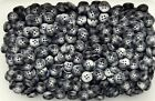 Small 9mm 11mm 12mm 15mm Grey Animal Effect Shirt Baby 4 Hole Buttons W54-57