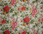 Rose Fabric Shabby & Chic Cottage Roses Fabric by the yard Quilting & Sewing