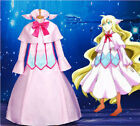 Fairy Tail Mavis Vermilion Luxury Long Dress Uniform Cosplay Costumes Any Size