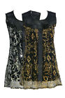 NEW LADIES WOMENS BUTTERFLY SEQUIN BOW SHIFT DRESS SHEER NECKLINE TOP SHIRT 8-14