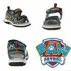 PAW PATROL MARSHALL CHASE Light-Up Velcro Sandals Shoes Sz 7 8 9 10 11 or 12 $35