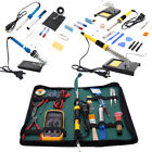 110V SMD Electric Rework Solder Soldering Iron Welder Kit for Cellphone Repair