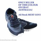 NAVY DUNLOP MENS KT26 RUNNERS WHITE BLUE SNEAKERS WIDE SHOES SiZE 6-12 AUS/UK