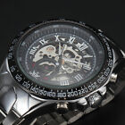 Sewor Fashion Male Business Skeleton Men's Mechanical Wrist Watch Self Winding
