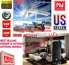 Indoor and Outdoor Antenna bundle HD 1080P 360 Rotor UHF/VHF/FM Our BEST SELLING