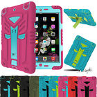 Shockproof Heavy Hybrid Protection Rubber Hard Case Cover For Apple iPad 2 3 4