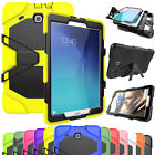 "Military Shockproof Heavy Duty Rugged Armor Case Cover For Samsung Tab A 8"" T350"