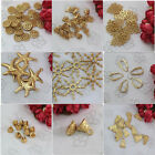 wholesale 5pcs DIY jewelry accessories 、 24 k gold plated,  pendant