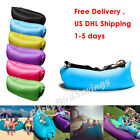 Portable Inflatable Hangout Lounger Chair Air Lazy Sofa Bag Sleeping Bed Camping
