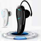 Bluetooth Wireless Hands-free Headset Stereo Earphone Mic For iPhone Smartphones